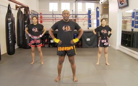 Thai Kickboxing Workout: Beginner