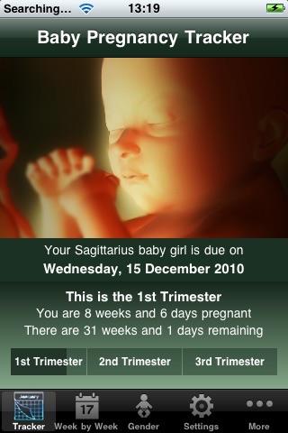 Baby Pregnancy Tracker (Lite)Screenshot of 1