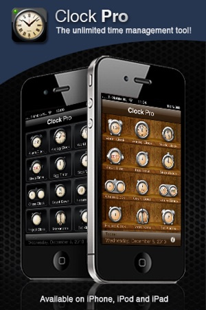 Clock Pro - Clocks, Timers and Alarm Clock Screenshot