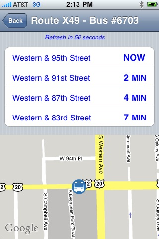 myTransit - CTA screenshot-3