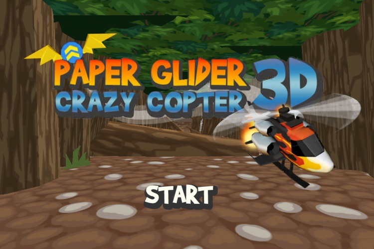Paper Glider Crazy Copter 3D screenshot-1