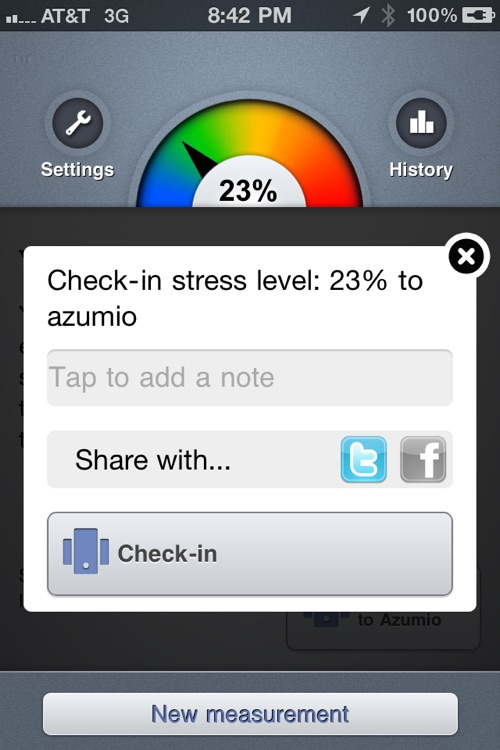 Stress Check Pro by Azumio screenshot-3
