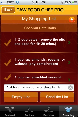 RAW FOOD CHEF PRO screenshot-4