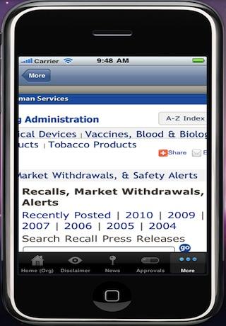 FDA App screenshot-3