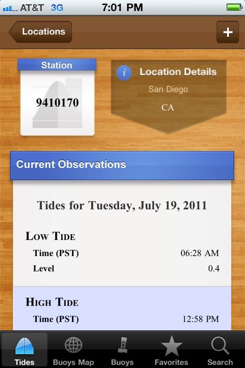 NOAA Ocean Buoys PRO screenshot-3