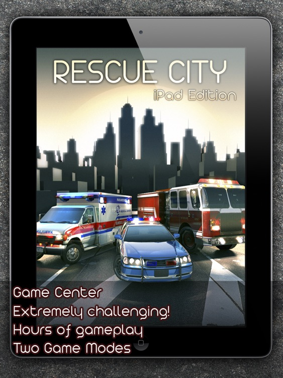 Rescue City iPad Edition Full screenshot-4