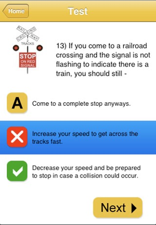 Australian Learner Drivers Test screenshot 2