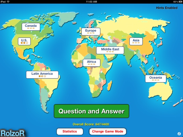 Tapquiz maps world edition on the app store gumiabroncs Gallery