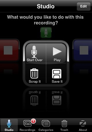 SpeakEasy Voice Recorder screenshot-2
