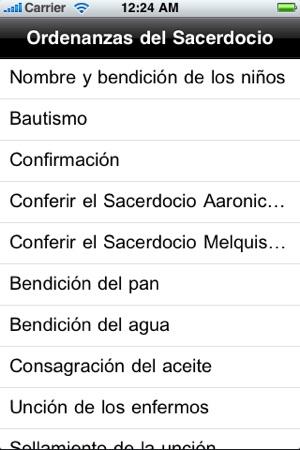 LDS Ordenanzas del Sacerdocio on the App Store