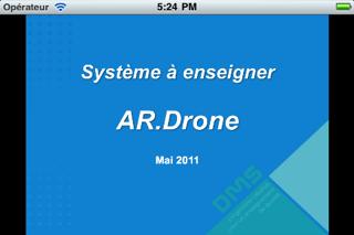 Screenshot #1 pour Système à Enseigner: AR.Drone