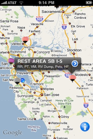 Rest area finder on the app store publicscrutiny Choice Image