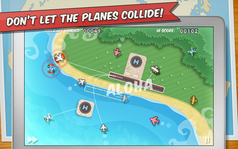 Flight Control HD Screenshot