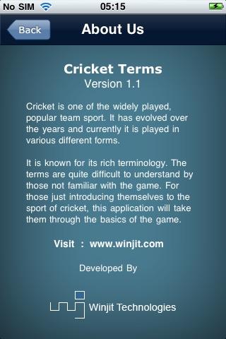 Cricket Terms screenshot-4