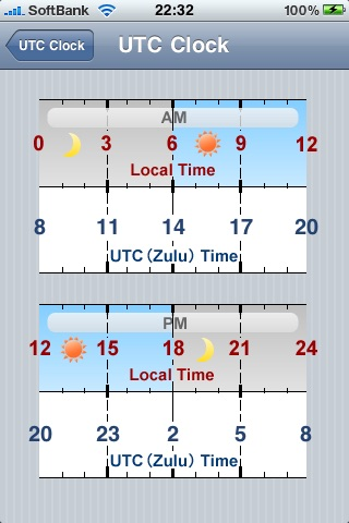UTC Clock screenshot-1