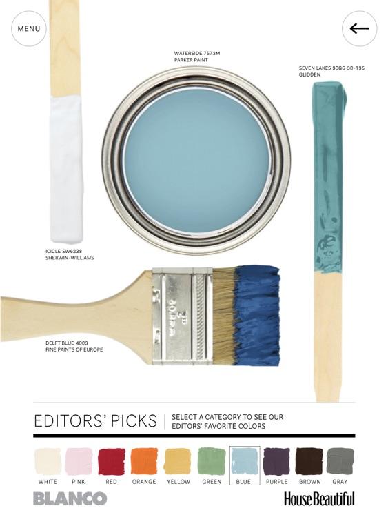 House Beautiful's 500+ Favorite Paint Colors screenshot-3