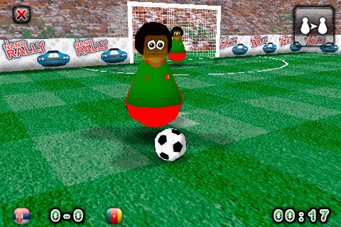 Touch Soccer 3D Lite screenshot-2