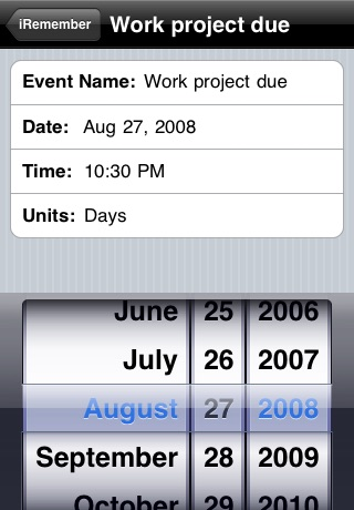 iRemember screenshot 3