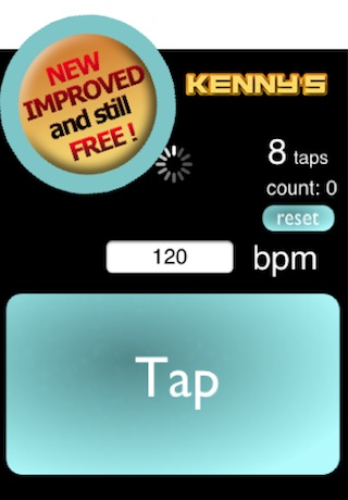 Tap Tempo - Free screenshot-0
