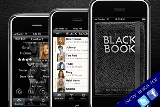 Black Book - Free version screenshot one