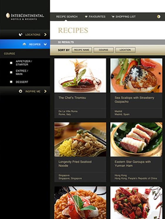 InterContinental Kitchen Cookbook screenshot-3