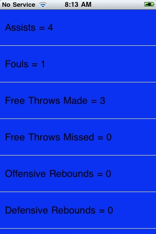 Quick Stats Basketball screenshot-3