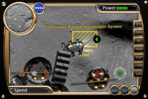 NASA Lunar Electric Rover Simulator