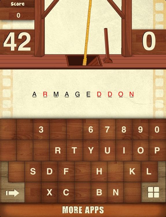 Hangman Hollywood For iPad screenshot-3