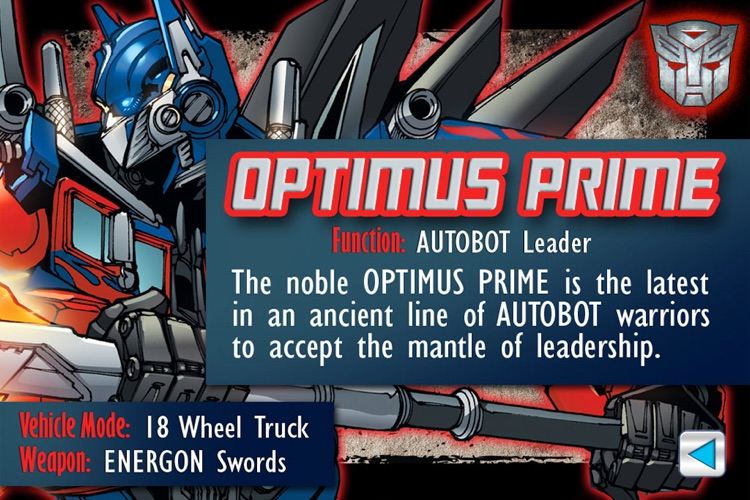 Transformers Dark of the Moon Mix & Match Book screenshot-3