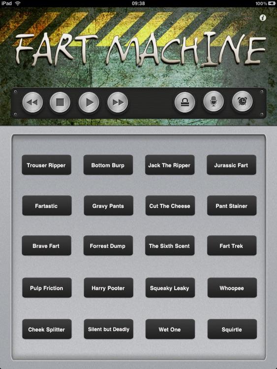 Fart Machine for iPad