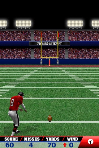 Field Goal Frenzy™ Football - The Classic Arcade Field Goal Kicking Game screenshot-3