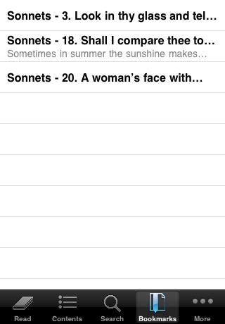 Shakespeare: Sonnets screenshot-4