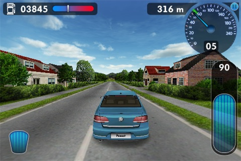 Volkswagen Think Blue. Challenge 3D