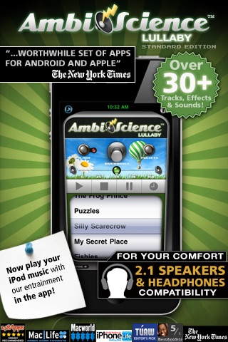 Lullaby | AmbiScience™ Sleep Aid for Children screenshot-0