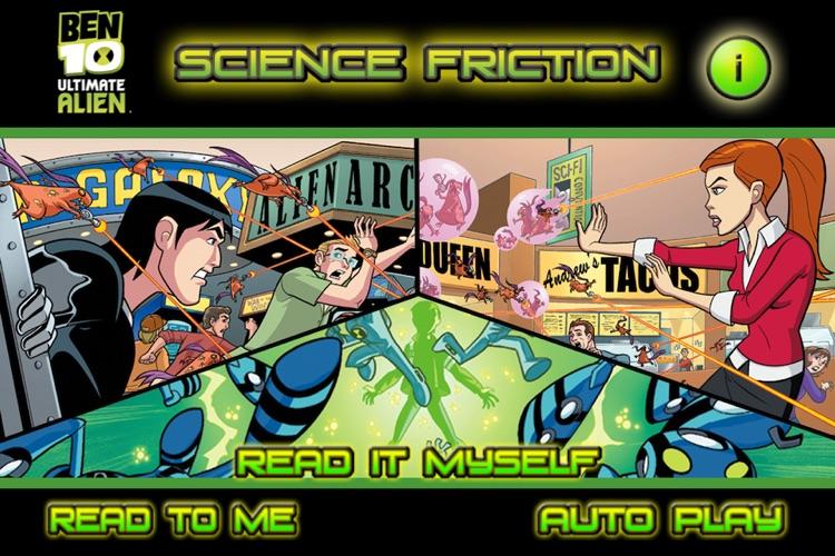 Ben 10 Science Friction- Kids' Book