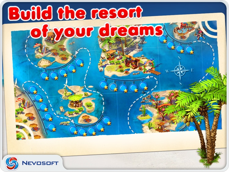 Paradise Beach: resorts tycoon sim strategy screenshot-4
