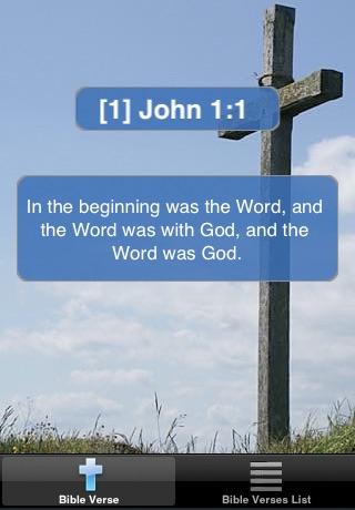 Screenshots of Bible Verses Free for iPhone