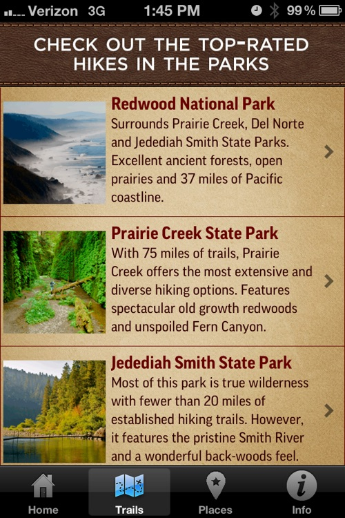 Redwood Park App screenshot-1