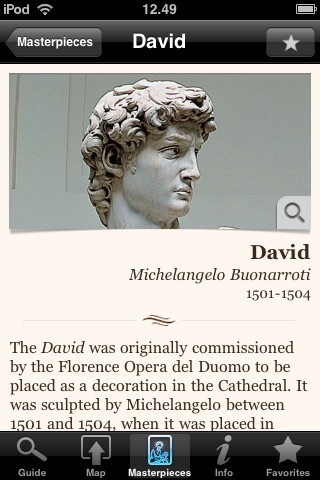 Accademia Gallery. The Official Guide screenshot-2