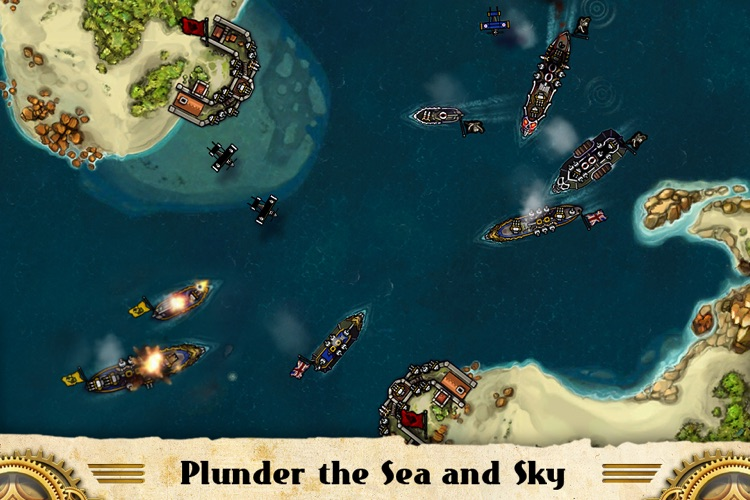 Crimson: Steam Pirates for iPhone screenshot-4
