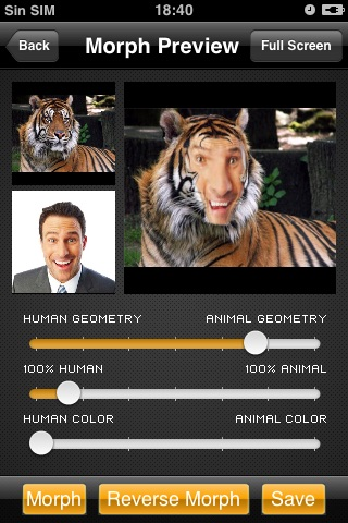 Morphing-Animal Free Version screenshot-4