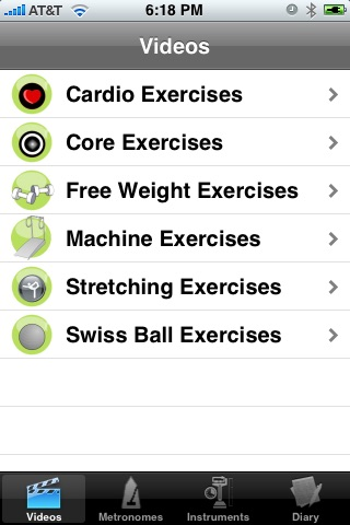 iWorkout Lite screenshot-0