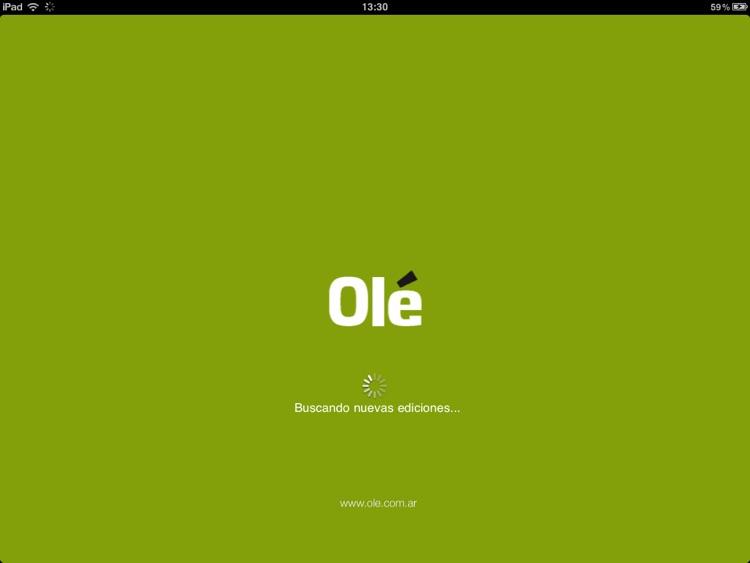 Olé para iPad