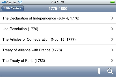 US Historical Documents & Speeches screenshot-4