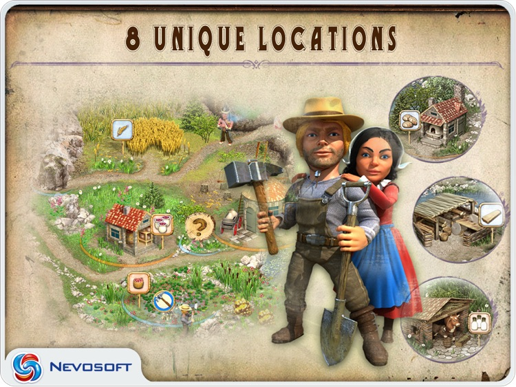 Pioneer Lands HD lite: western settlers strategy screenshot-0