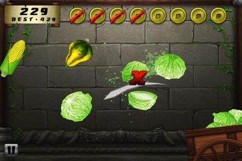Veggie Samurai screenshot-3