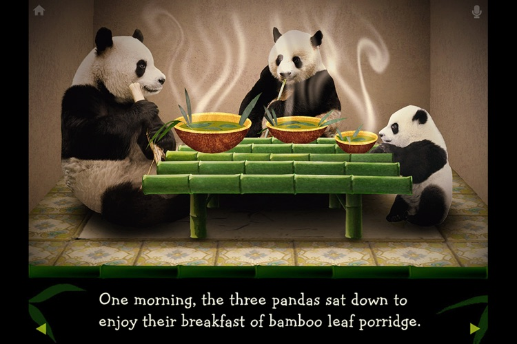 The Three Pandas Animated Storybook screenshot-0