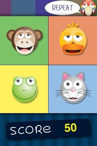 AniSays LITE - Animals Simon Game Screenshot