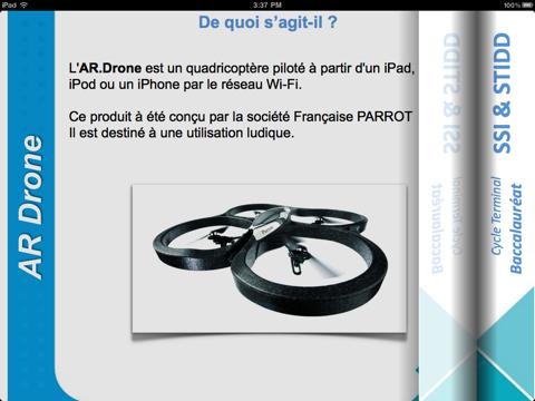 Screenshot #5 pour Système à Enseigner: AR.Drone