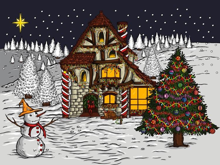 Holiday Advent Calendar HD